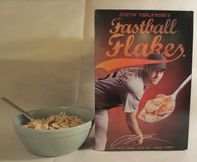 Justin Verlander Cereal Fastball Flakes
