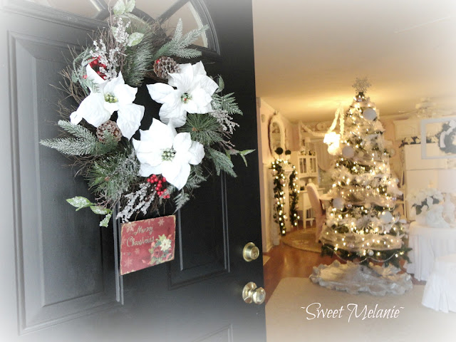Shabby chic Christmas Home tour