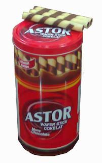 Bánh quế chocolate Astor nhập khẩu Indonesia