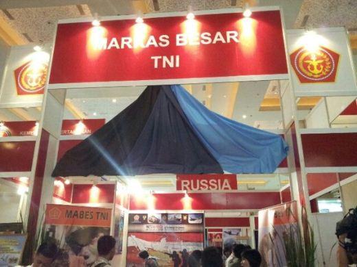 Stan Mabes TNI Indo Defence 2012 EXpo dan Forum