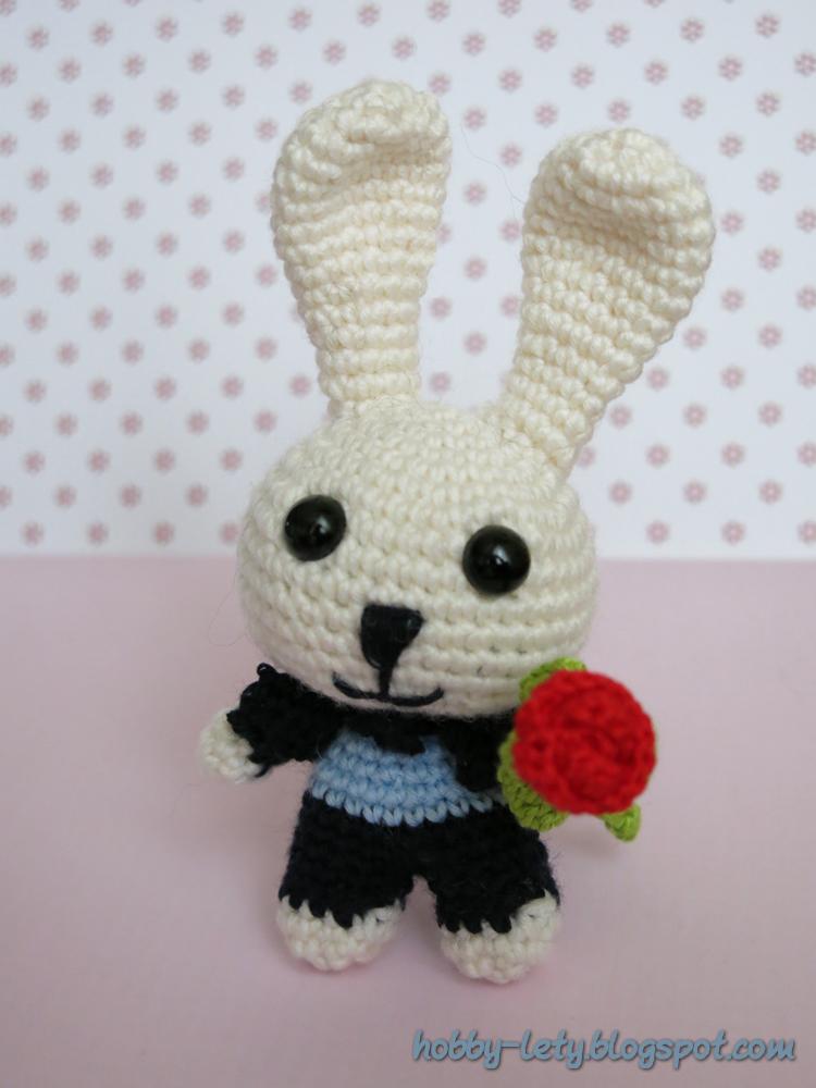 Amigurumi Free Pattern Italiano : Gli Hobby di Lety: Schema free del coniglietto in italiano