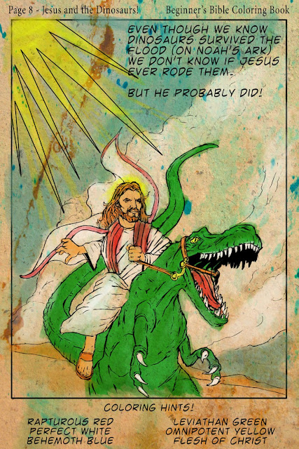 """Beginner's Bible Coloring Book"" by Derek Chatwood"
