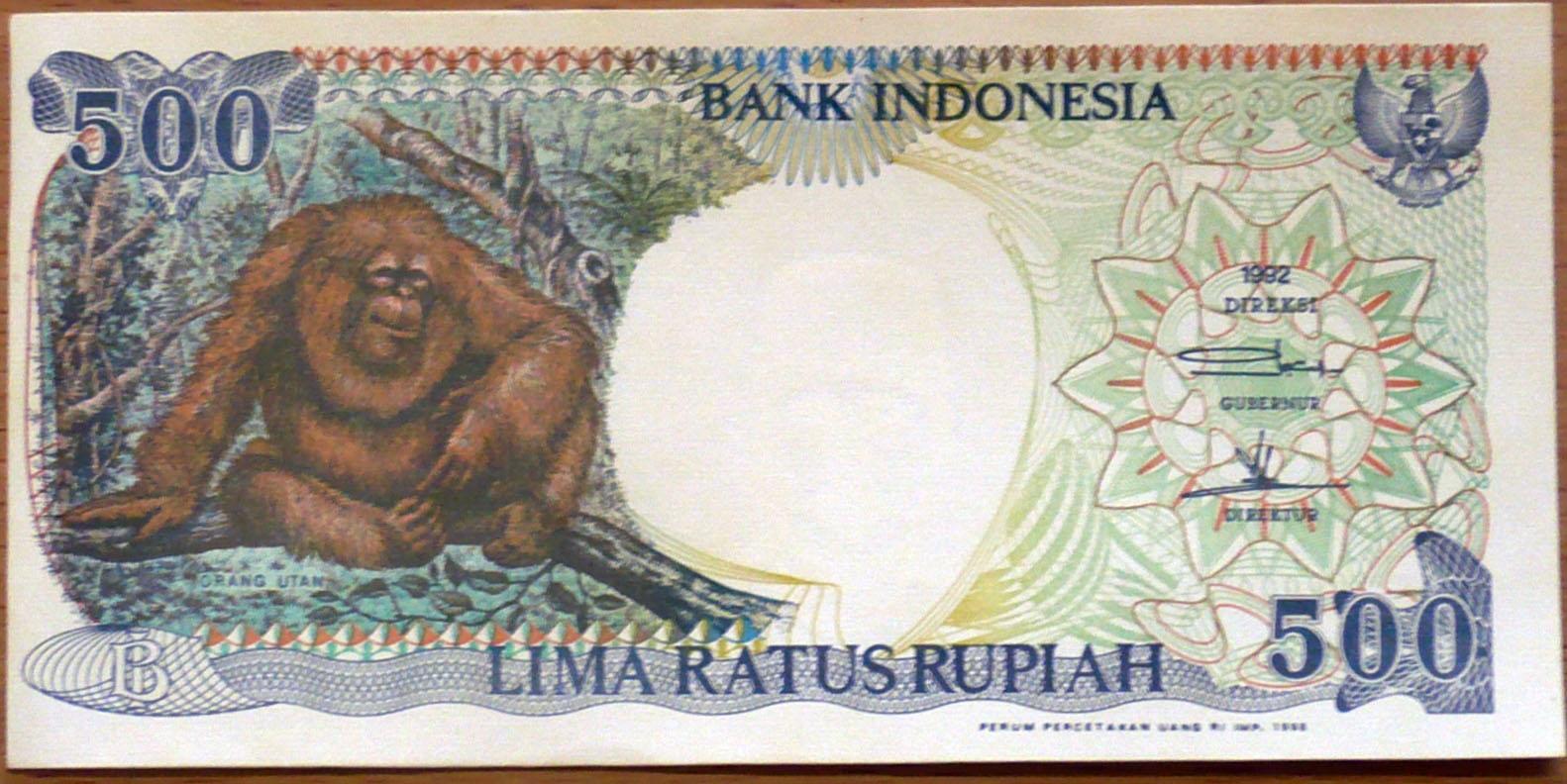 Mengintip Perubahan Bentuk Uang Indonesia Dari Tahun Ke T Fyi 100 Rupiah Burung Dara 500 Monyet