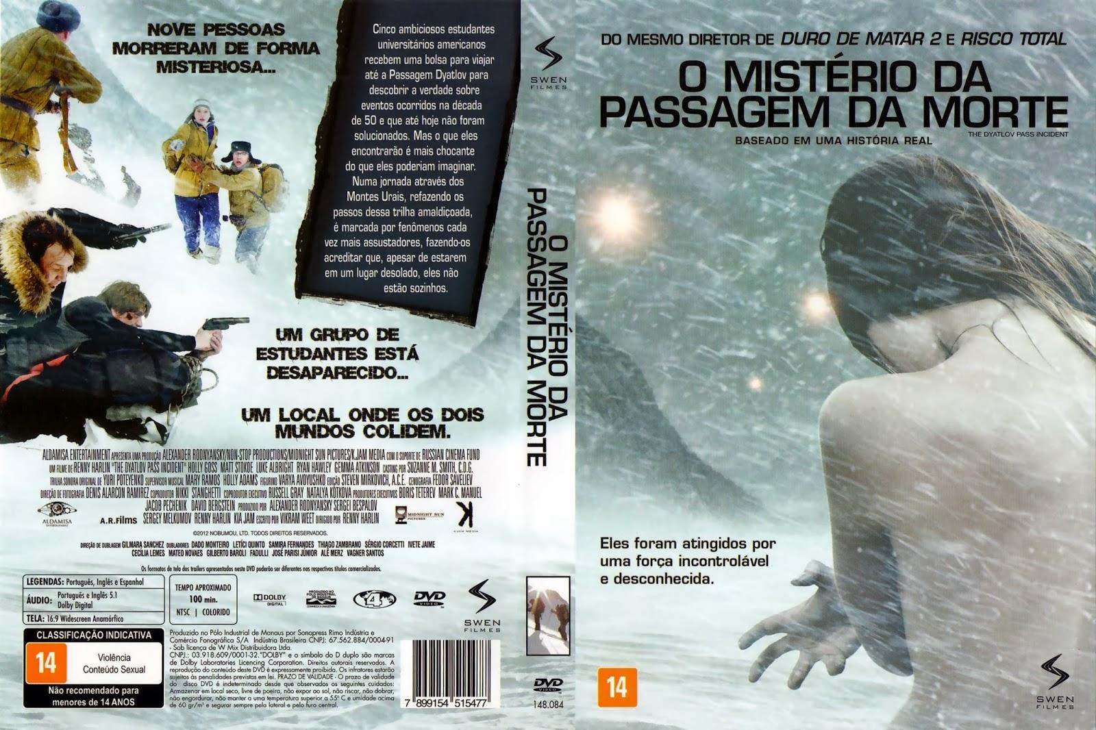 O Mistério da Passagem da Morte DVD Capa