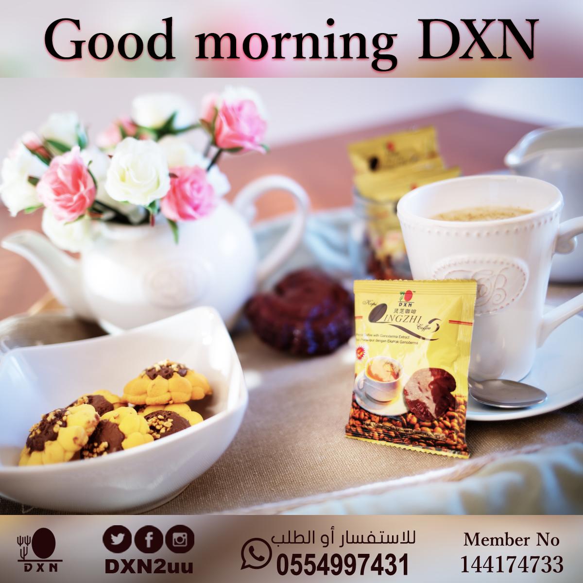 Good morning DXN