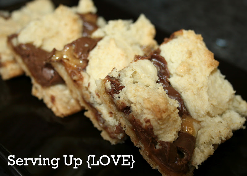 Rolos Cookies Cake Mix