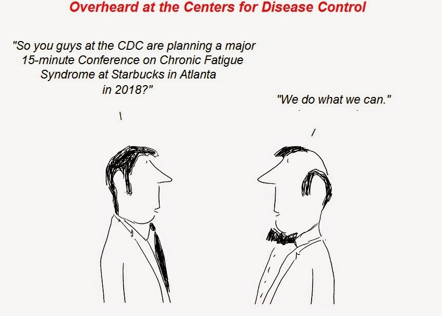 cartoon, cdc, cfs, atlanta, conference, Chronic Fatigue Syndrome, Julian Lake