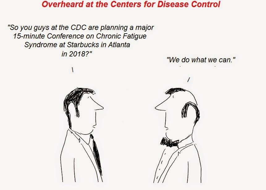 cartoon, cdc, cfs, atlanta, conference, Chronic Fatigue Syndrome, Julian Lake