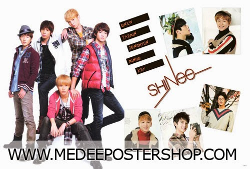 Shinee Poster 2013