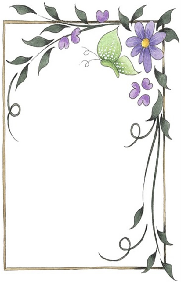Bordes decorativos para hojas escolares - Imagui