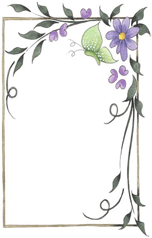 Bordes para decorar hojas | A mi manera