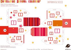casitas 2- Calendario de Adviento 2013 Milanesa