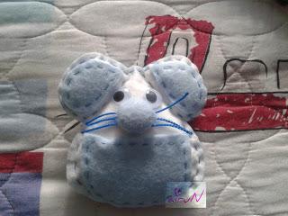 ratón pérez fieltro manualidades