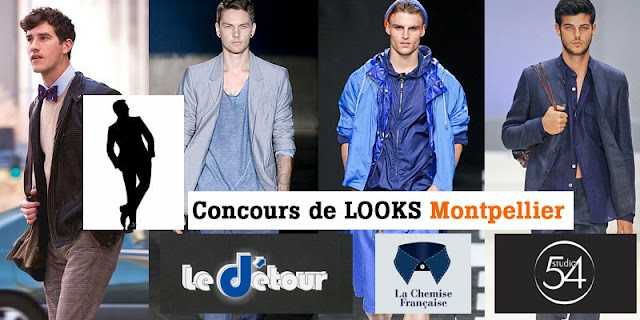 Visuel du Concours de Looks Montpellier.