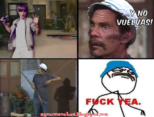 DON RAMON VS JUSTIN BIEBER