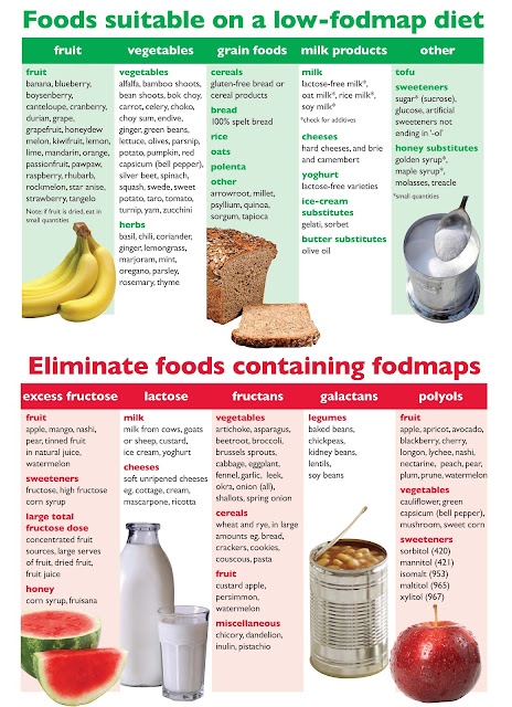 Monash Low Fodmap Food List