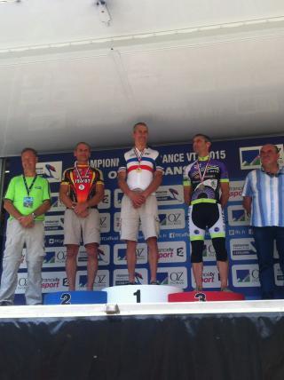 Marc Balascovic Vice Champion de France derrière Jean Paul Stéphan