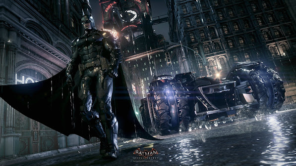 Batman Batmobile Arkham Knight 2o