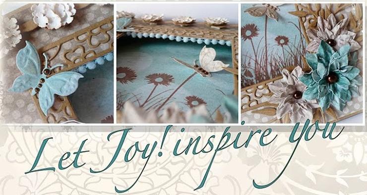 Ich bin stolz, für Joy!Crafts zu designen