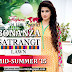 Pakistani Mid Summer Dresses 2015 Presented Satrangi By Bonanza - Satrangi Lawn New Arrivals