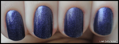 pupa nail polish-402 purple shimmer