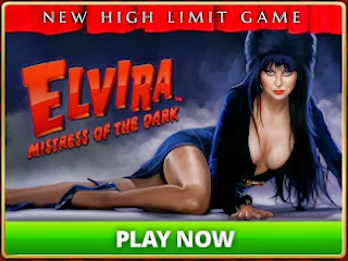 Elvira at Hit It Rich Casino Slots on Facebook