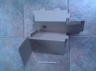 making birdhouse at home