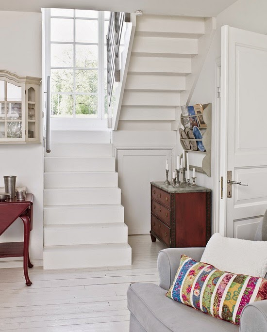 White Country House in Sweden ~ Interiors and Design Less Ordinary