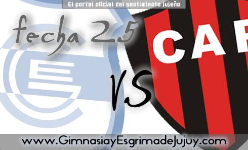 Fecha 25: Gimnasia de Jujuy vs Patronato