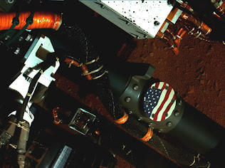 THE U.S. FLAG ON MARS
