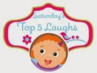 http://www.the-mommyhood-chronicles.com/2013/11/saturday-top-five-laughs-come-join-our-blog-hop-45/