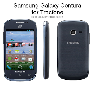 samsung galaxy centura displaying tracfone minutes on samsung galaxy