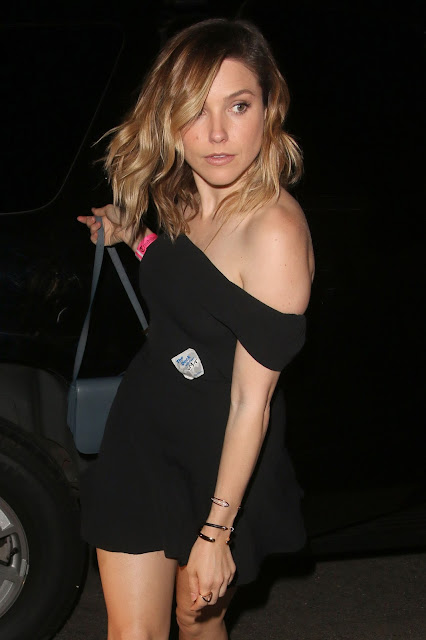 Actress @ Sophia Bush - at the Chateau Marmont in West Hollywood