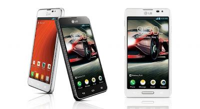 LG Optimus F5, Smartphone Android LTE