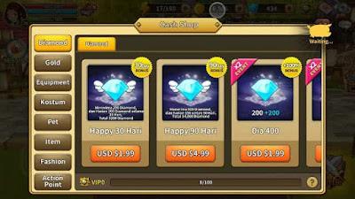 [WORK] Cara Mendapat Diamond Gratis LINE Dragonica Mobile