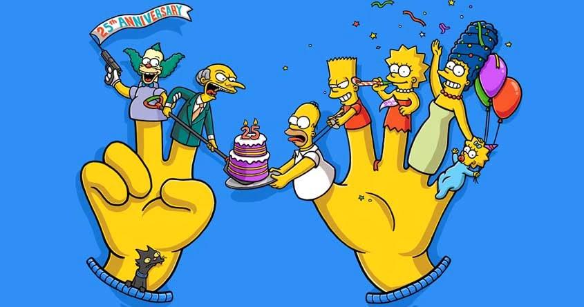 Los Simpson 25 aniversario homenajes