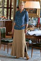 womens tall sweater skirt