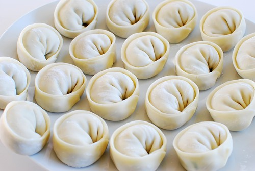 Mandu (Korean Dumplings) - Korean Bapsang