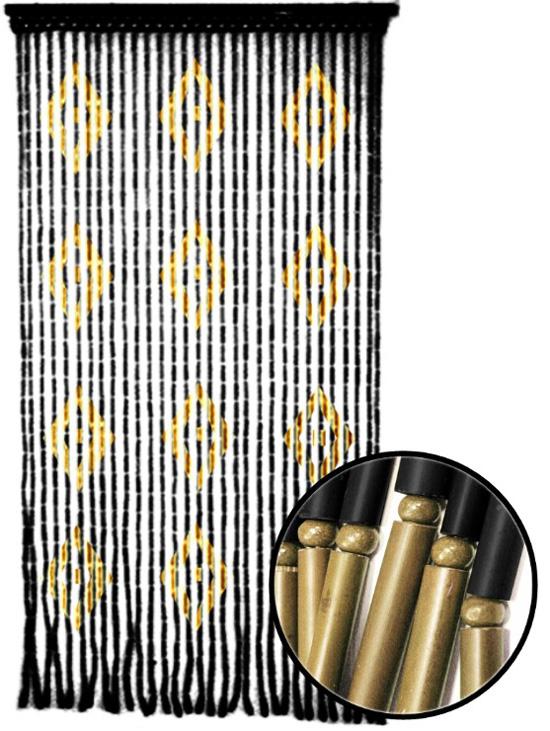 Cortinas de bamb puertas de lujo decorar casa y hogar for Cortinas de madera para puertas
