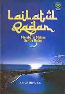 toko buku rahma: buku LAILATUL QADAR, pengarang al ghufron, penerbit amzah