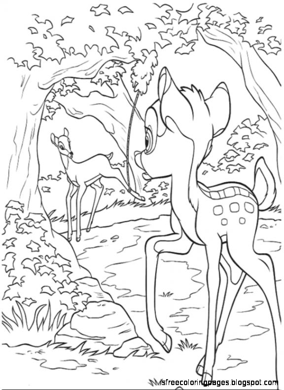 Bambi 2 Coloring Pages | Free Coloring Pages