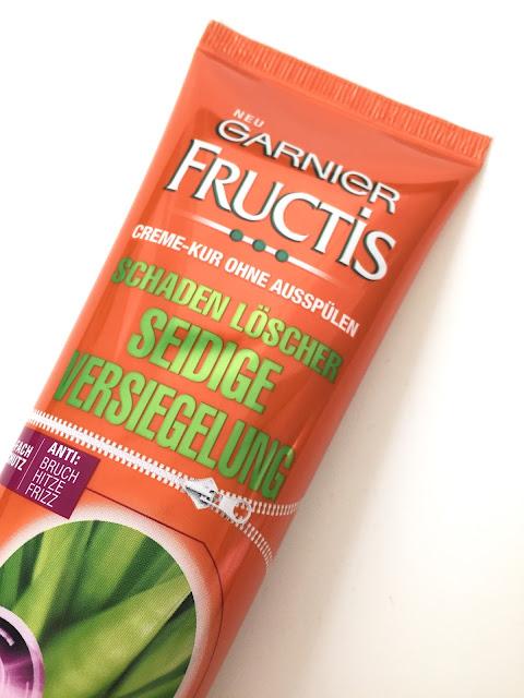 Garnier Fructis Schadenlöscher Seidige Versiegelung Creme-Kur