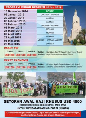 Paket Umroh Murah 2015 Dan Jadwal Keberangkatan