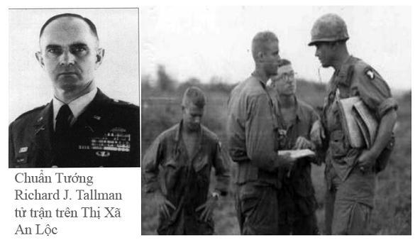 Chuẩn Tướng Hoa Kỳ Richard J. Tallman Tử Trận tại An Lộc