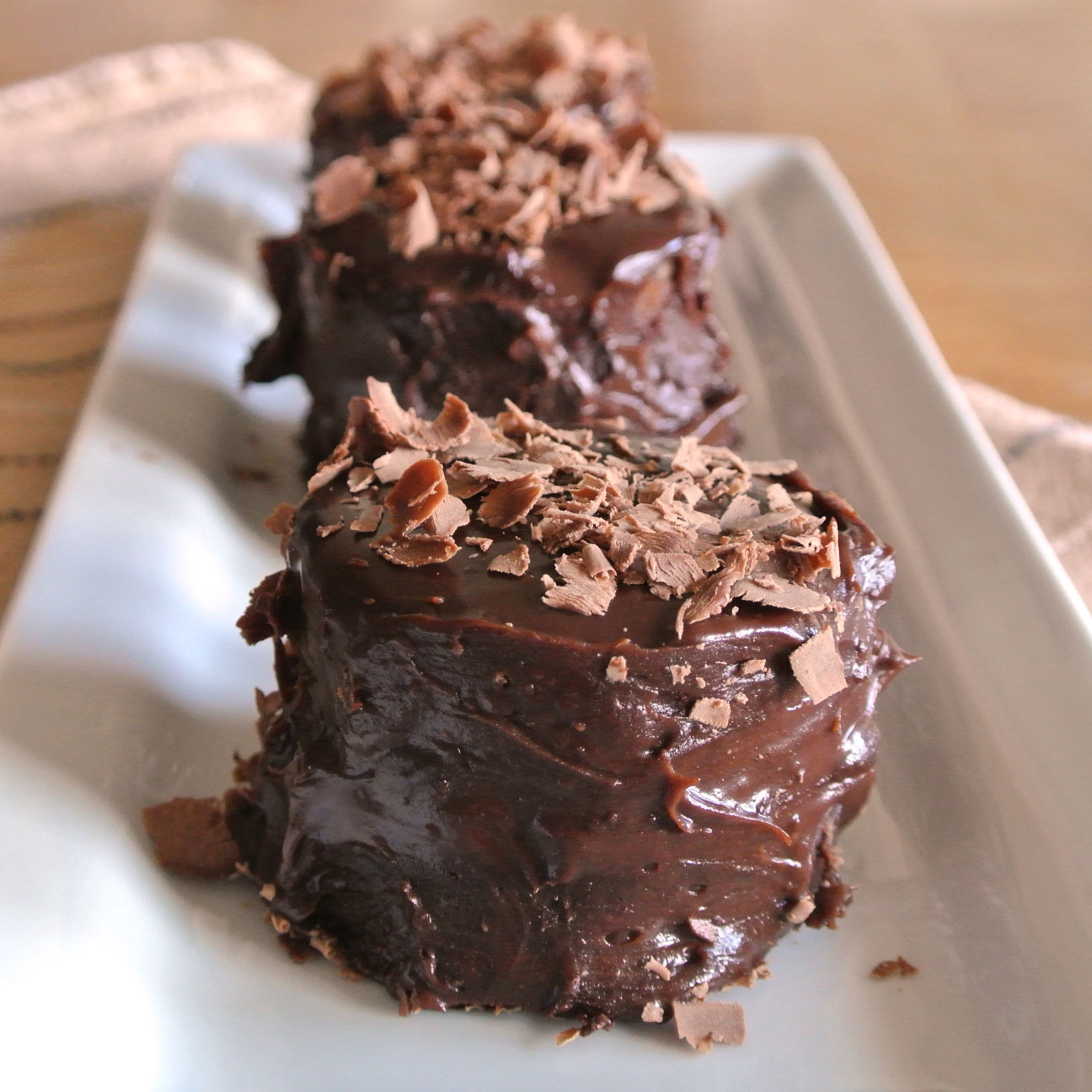 Individual Dark Chocolate Pudding Cakes Recipe — Dishmaps
