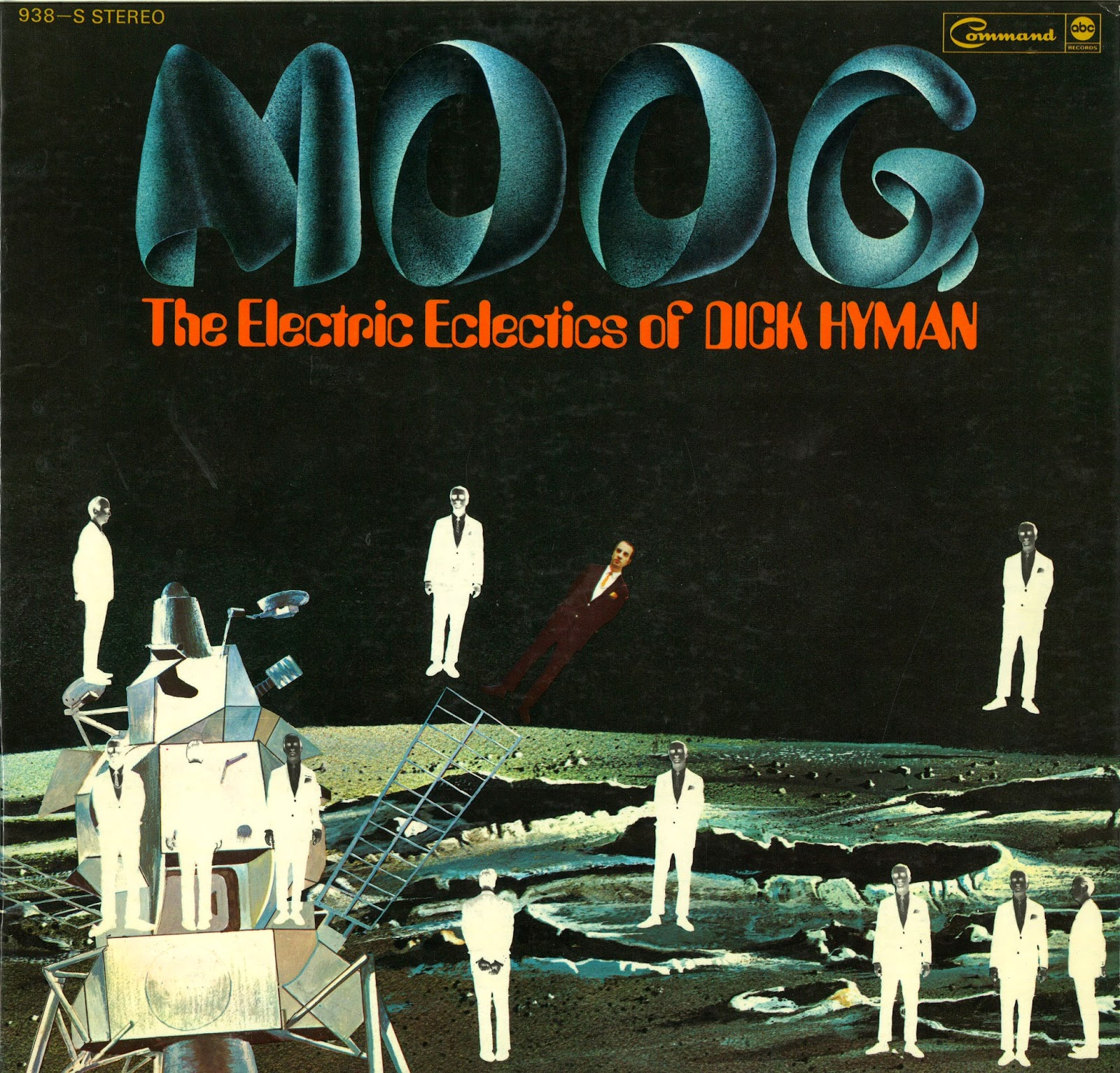 Dick Hyman Moog The Electric Eclectics Of Dick Hyman