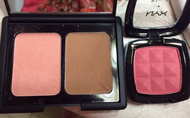 Elf and NYX Blush