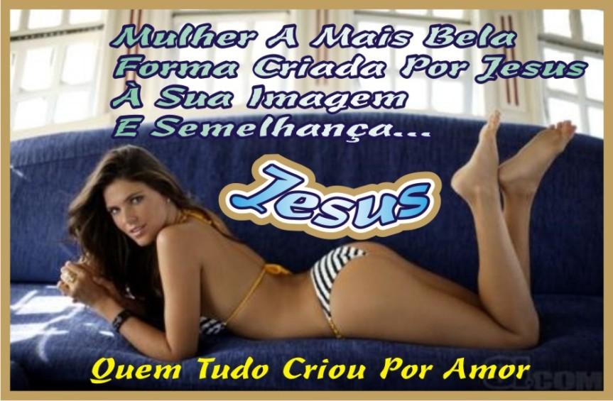 A Mulher Dádiva Maior de Jesus Para Os Homens