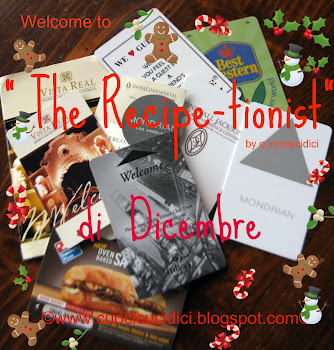 """THE RECIPE-TIONIST"" DI DICEMBRE Eì:"