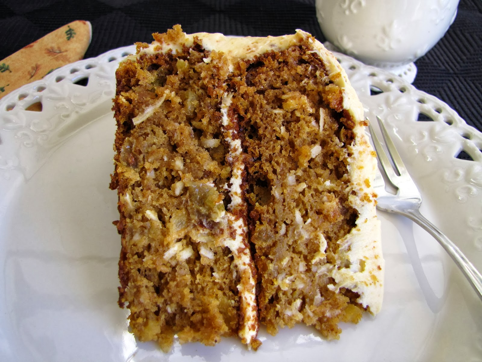 ... Girls Can Cook: Spiced Pumpkin Layer Cake with Cream Cheese Frosting